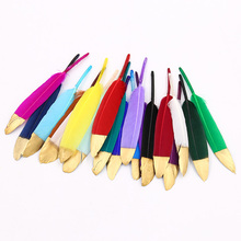 Natural Goose Feather 10-15CM Various Colors DIY Craft Wedding Party Ornaments Christmas Decoration