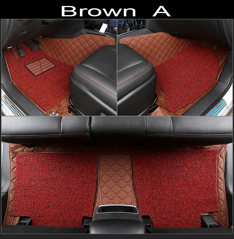 Car floor mats for Toyota Corolla RAV4 Mark X Crown Verso FJ Cruiser yaris L 5D car-styling carpet floor linerCar floor mats for Toyota Corolla RAV4 Mark X Crown Verso FJ Cruiser yaris L 5D car-styling carpet floor liner