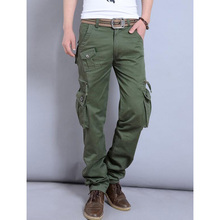 New fashion Male Breeches men's cotton coveralls man workwear leisure trousers Men's military pants Cargo pant Size 29-40