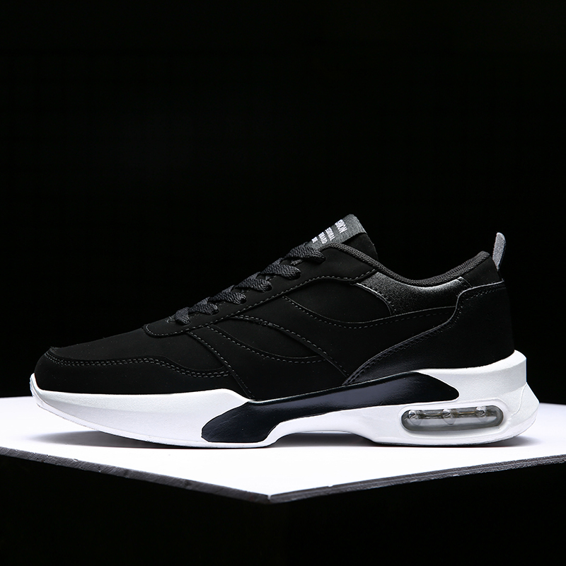 Men's Fashion Casual Shoes Brand Comfortable Outdoor Air Cushion Sneakers Height Increasing Non-slip Breathable Walking Shoes