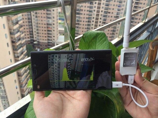 FPV Мини 5.8 ГГЦ 5.8 Г 150CH Мини FPV Приемник UVC Видео Downlink VR OTG Android Телефон с android app