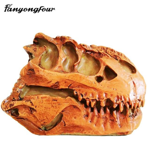 3d Dinosaurier Schadel Silikonform Feuchtigkeitsspendende Kuchenform