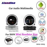 Liandlee For BMW Mini Roadster R59 2012~2015 Android Radio Stereo Carplay Camera TV Wifi USB GPS Map Navi Navigation Multimedia