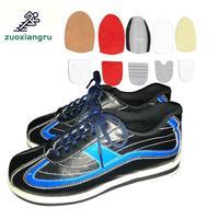 Zuoxiangru/Мужская и женская обувь для боулинга, импортная супер удобная спортивная обувь из мягкого волокна платины, обувь для боулинга унисекс