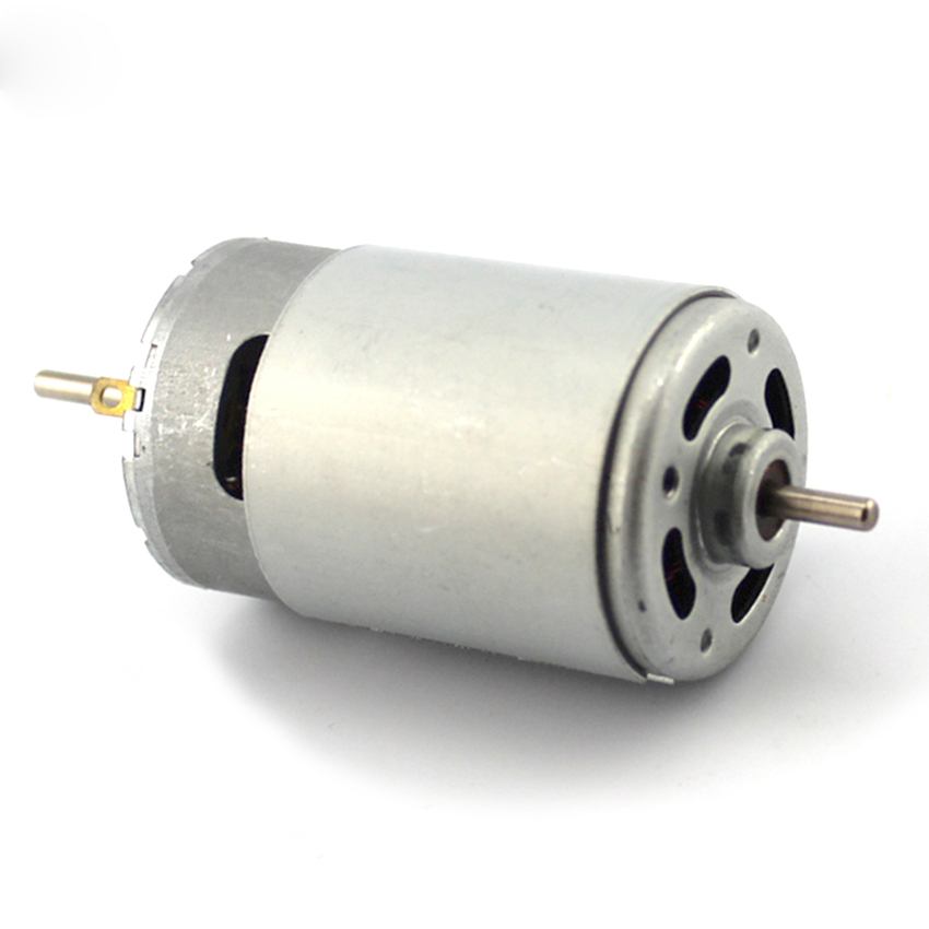 Double Output Shaft 550 DC Motor 6-12V Big Model Toy Car Motor for DIY electric drill motorDouble Output Shaft 550 DC Motor 6-12V Big Model Toy Car Motor for DIY electric drill motor