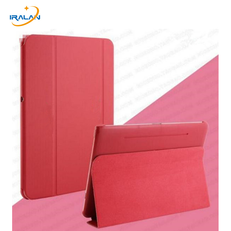 2018 new Business Ultra Slim Thin Leather Case BOOK Cover For Samsung Galaxy Tab 2 10.1 P5100 P5110 P5113 + screen film + Stylus