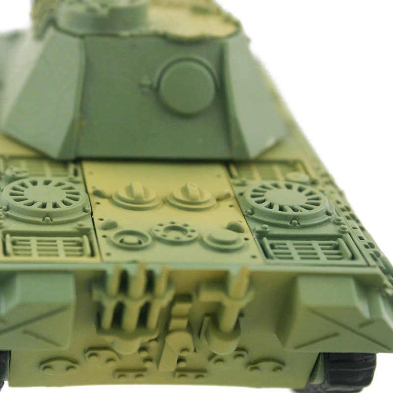 4D Tangki Bangunan Model Kit Militer Perakitan Mainan Pendidikan Dekorasi Kepadatan Tinggi Bahan Panther Tiger Turmtiger Serangan