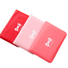 50PCS / LOT Fashion Women Butterfly Card Wallet Business Leather Cover 12  Slots ID Bag