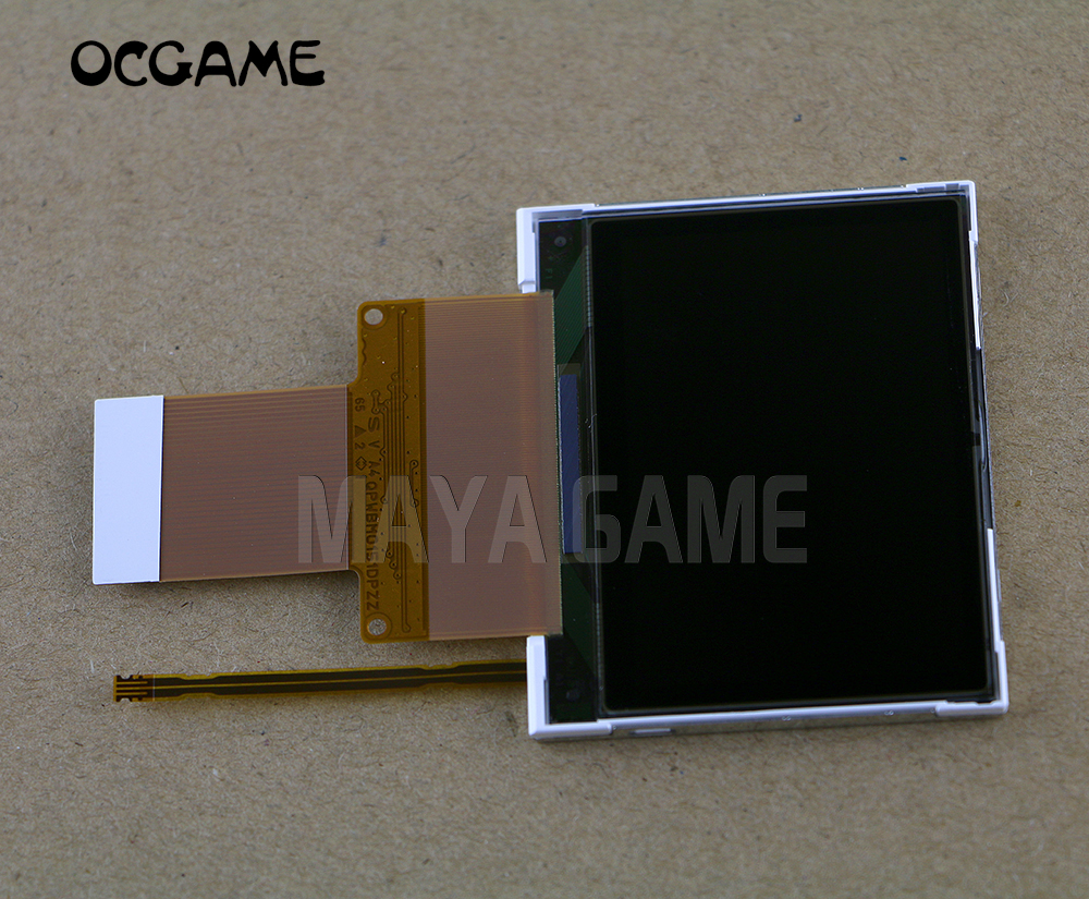 OCGAME High Quality Original New LCD Screen Display With Flex Cable Repair Parts For GameBoy Micro GBM
