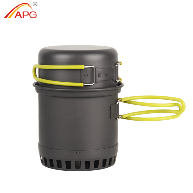 APG Ultralight Camping Cookware Cooking System Outdoor Tableware Bowl Pot Pan Utensils Cutlery