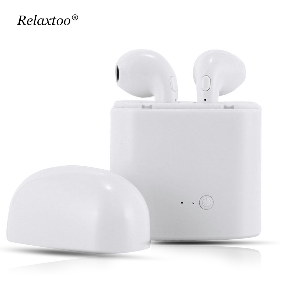 i7 s TWS Twins Wireles Earphone Mini In-Ear Music earpods Bluetooth Earbuds Stereo Heads ...