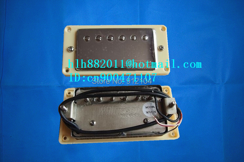 free shipping new  electric guitar pickup in chrome made in South Korea wk-04
