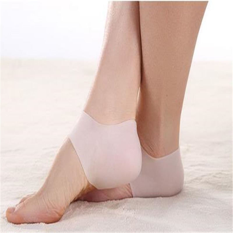 1 PAIR heel pad protector relieve heel pain and cracking prevention Insoles Absorption Pads for men and women AIS622