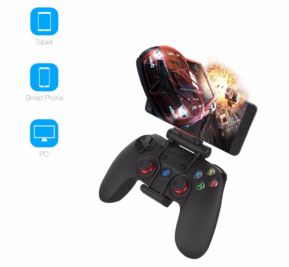 GameSir G3s Gamepad for PS3 Controller Bluetooth&2.4GHz snes nes N64 Joystick PC for Samsung Gear VR Box for SONY Playstation 2 4