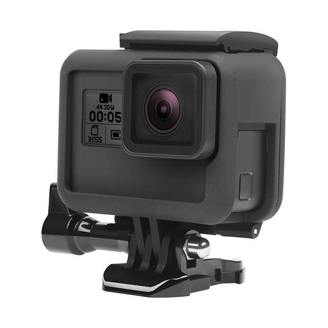 SHOOT Side Open Protective Border frame Case for GoPro HERO 7 6 5 Black Sports Cam For Go Pro Hero 7 6 5 Action Camera Accessory