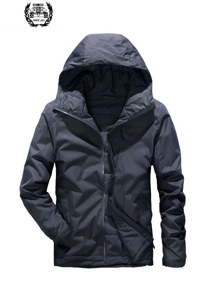 2019 Мужская парка куртки Desieners с капюшоном Куртка мужская пуховая парка зимнее пальто Высокое качество дропшиппинг зима M ~ 4XL широкая талия