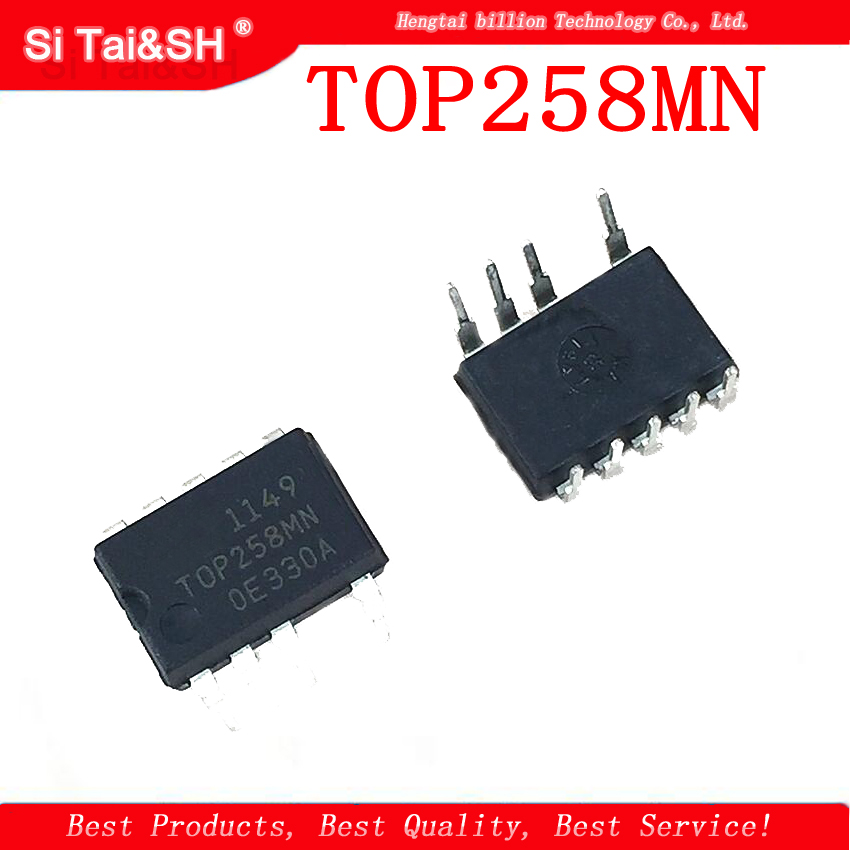 3PCS/LOT  TOP258MN = TOP258MG DIP-9 LCD Power Management Chip