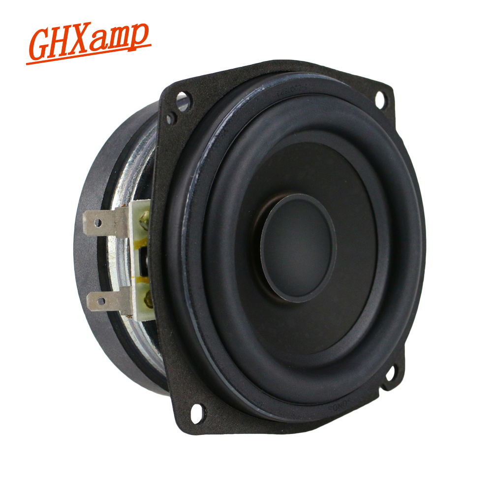 3.5 inch 4OHM 25W Mid-range Woofer Speaker High-end Home Theater Computer Loudspeaker 1PCS ghxamp 3 inch 4ohm 30w midrange speaker car speaker mid human voice sound good loudspeaker for lg diy 2pcs