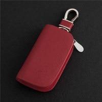 2017 Red Frost Car Key Ring Auto Key Cover For Opel Hyundai Mazda Jaguar Mitsubishi Toyota