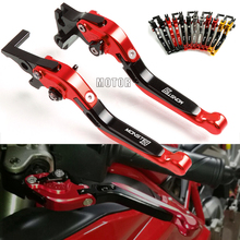 CNC Motorcycle Brake Clutch Levers For DUCATI MONSTER 400 620 695 696 796 M400 M600 M620 M750 M750IE M900 MONSTER S2R 800 cnc levers for ducati 748 916 900ss monster m400 m600 m620 m750 m900 motorcycle adjustable folding extendable brake clutch lever