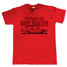 Mk2 Escort RS2000 Original Boy Racer Mens T Shirt - Gift for Dad Funny Tops Tee New Unisex High Quality Casual Printing