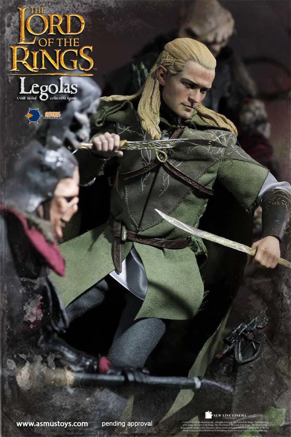 Asmus Toys 1//6 The Lord of the Rings Boromir Action Figure Model In Box In Stock