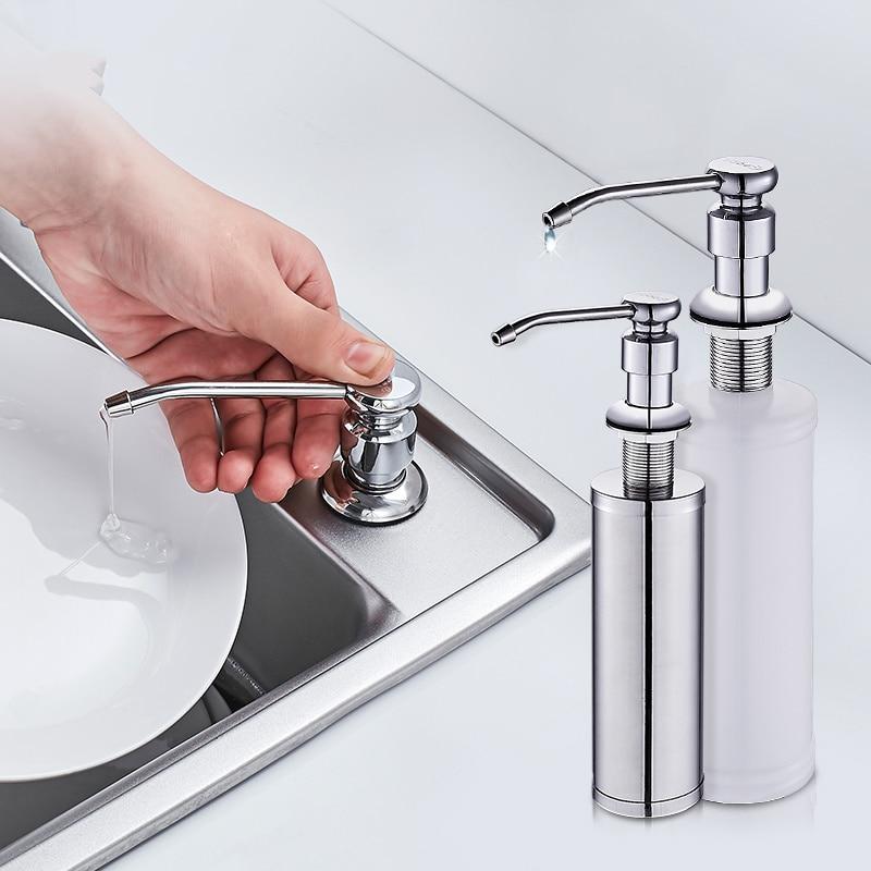 hot kitchen sink soap dispenser bathroom detergent dispenser for liquid soap lotion dispensers. Black Bedroom Furniture Sets. Home Design Ideas