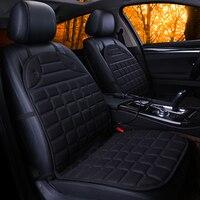 מושבים לרכב חדשה החורף מחומם 12 V האוניברסלית מחוממות עבור BMW אאודי טויוטה הונדה פורד פולקסווגן כל המכונית סדאן סטיילינג
