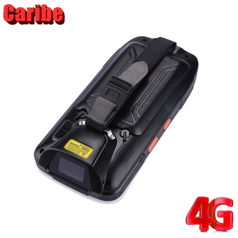 CARIBE Handheld 2D Barcodescanner 4 Zoll Rfid Uhf NFC Reader Android - Büroelektronik - Foto 4