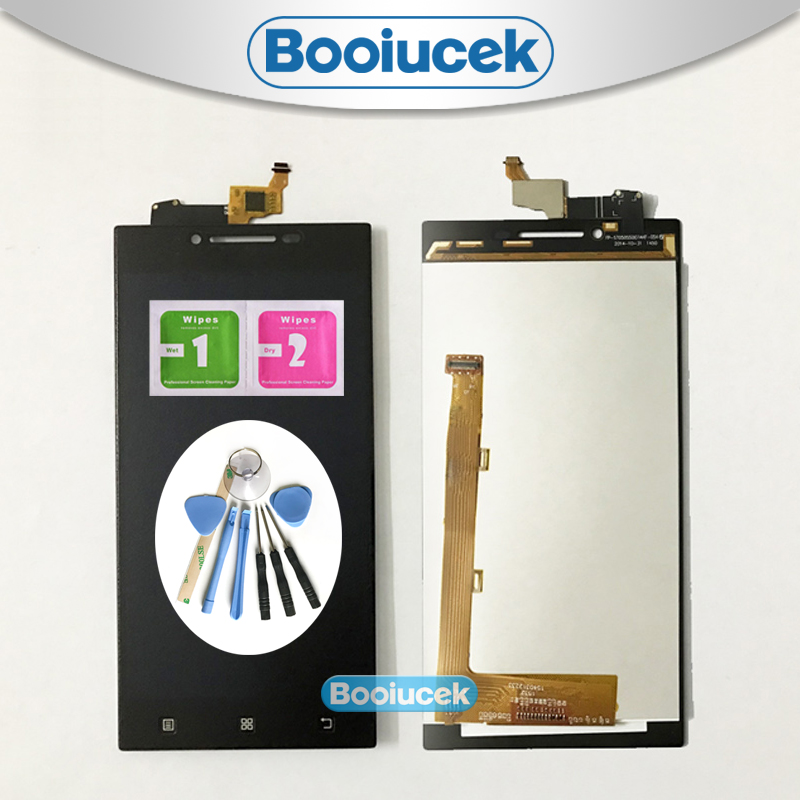 High quality 5.0'' For <font><b>Lenovo</b></font> <font><b>P70</b></font> P70t LCD <font><b>Display</b></font> Screen With Touch Screen Digitizer Assembly + Tool image