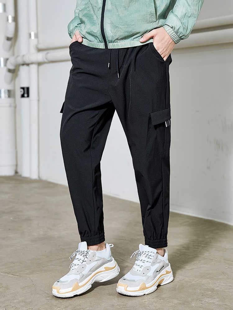 بايونير كامب السراويل التكتيكية الذكور عداء ببطء فضفاضة حجم كبير سراويل قطنية مع جيوب هارين الرجال السراويل البضائع AXX908027
