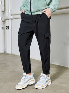 Image 2 - Мужские тактические брюки Pioneer Camp, повседневные свободные джоггеры размера плюс, хлопковые брюки с карманами, шаровары, AXX908027