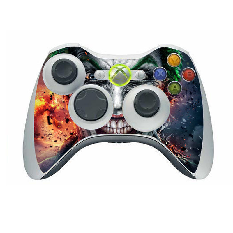 Joker vinyl skin sticker protector for microsoft xbox 360 controller skins stickers for xbox 360