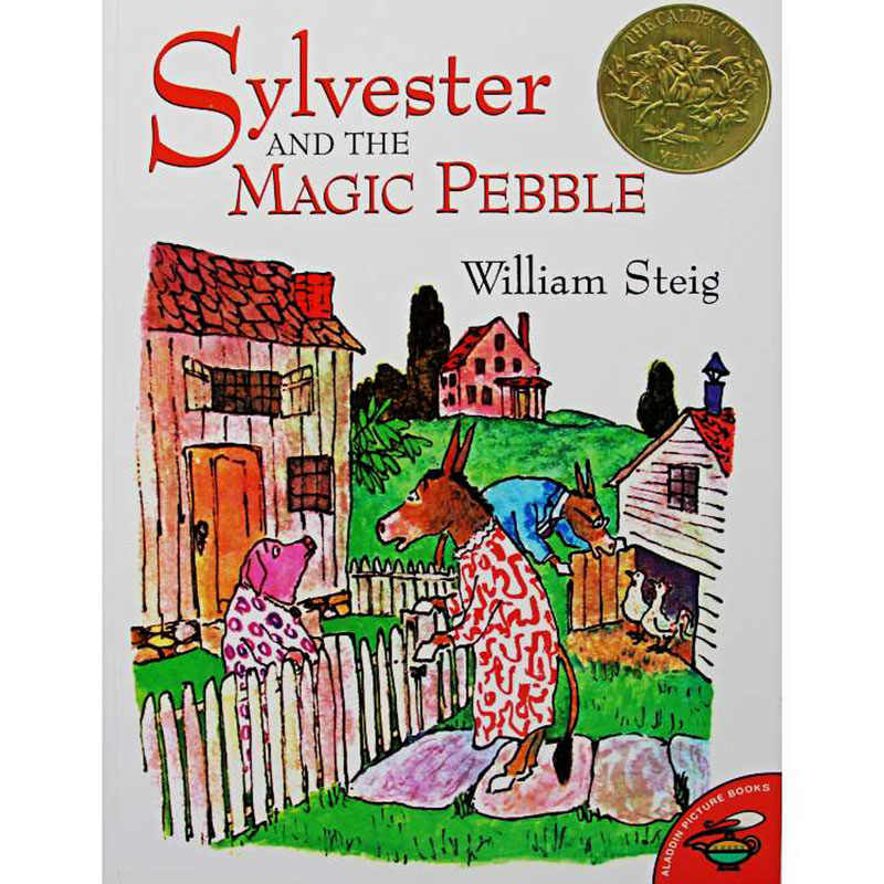 Sylvester and the Magic Pebble By William Steig Educational English Picture  Book Learning Card Story Book For Baby Kids Children| | - AliExpress