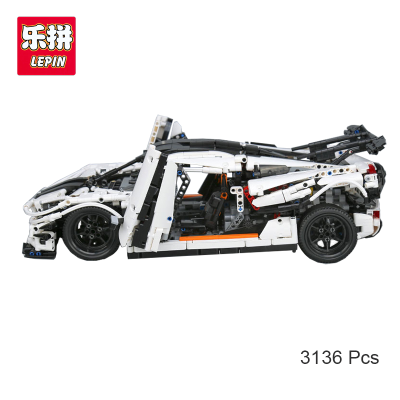 Lepin 23002 Technic Series MOC-4789 Changing Racing Car Set Children Compatible With lego Educational Building Blocks Brick Toys new lepin 16009 1151pcs queen anne s revenge pirates of the caribbean building blocks set compatible legoed with 4195 children