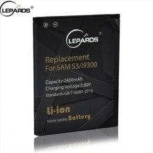 1 EB-L1G6LLU Battery Para For Samsung Galaxy S3 i9300 i9128 i9082 T999 i9305 Batteries Li-ion 2400 mA Batteria