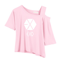 Blackpink, EXO And BTS Off-Shoulder T-Shirt