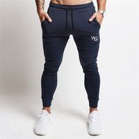 2017 New Gyms Clothing In Men Pants Men Fashion Jogger Pants Skinny Casual Trousers Pants Top