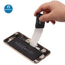 Qianli ToolPlus teléfono móvil curvado apertura de pantalla LCD palanca herramientas ultrafino flexible de acero inoxidable palanca Spudger herramienta