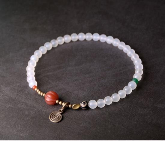 Red-Pumpkin-Agate-Mixed-Buddha-Eyes-Bead-bracelet-Tibetan-Buddhism-Zen-Healing-brass-beads-White-Grey-Agate-Friendship-Jewelry (10)