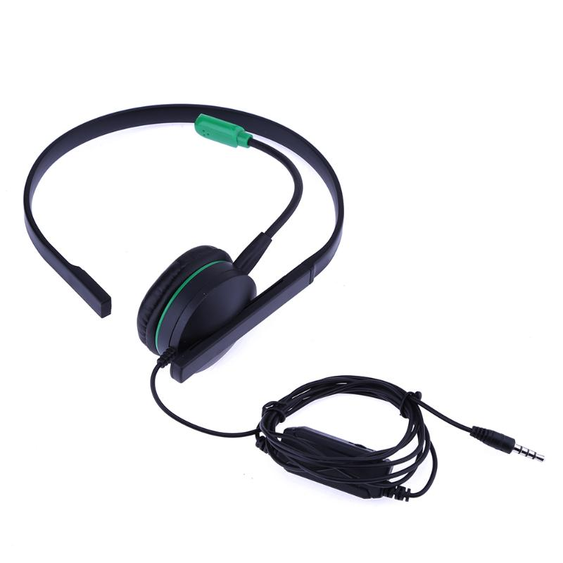 Alloyseed Black Headphone Monaural Single-sided Gaming Headset for XBOX ONE and PlayStation PS4 with Microphone plantronics 64336 31 supraplus wideband monaural