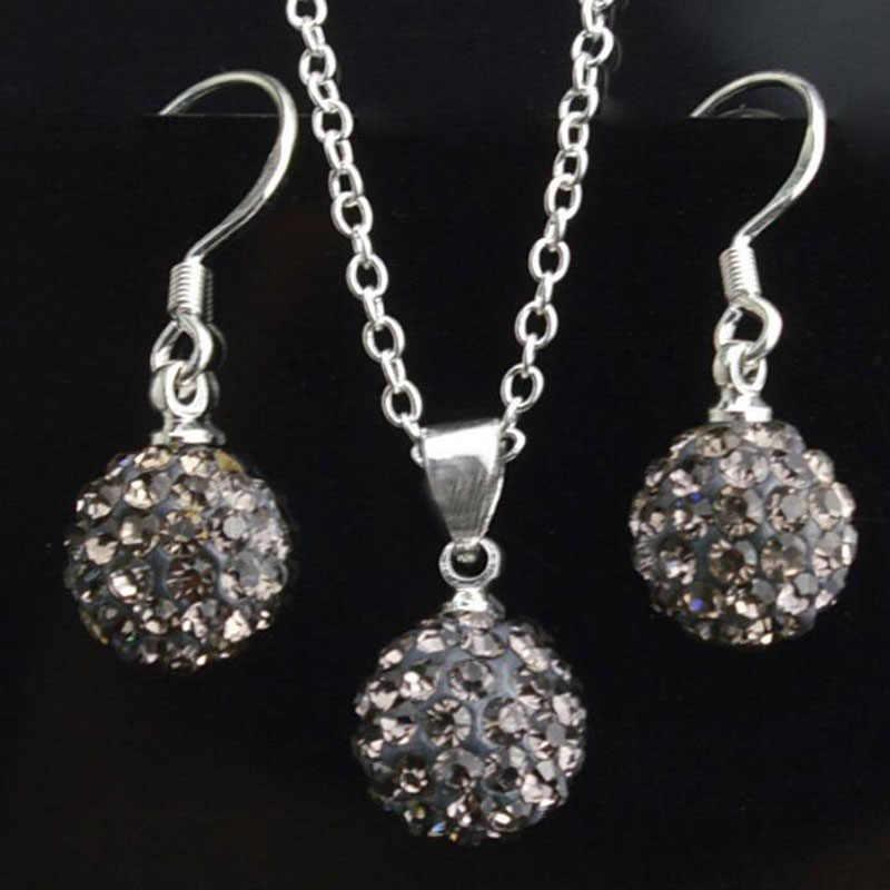 Ювелирные наборы серьги Brincos серьги интернет-магазины Индия Pendientes Mujer для женщин Brinco ожерелье набор кристалл шпилька orbellen