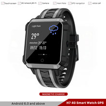 Waterproof IP68 Android 6.0 4G Smart Watch GPS Compass 1GB 8GB Smart watch with Camera Sim Card Answer call,Barometric Altitude цена