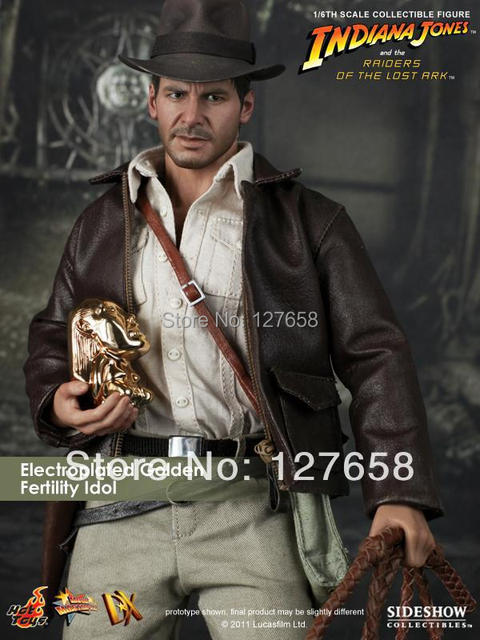 082b7b61acf Original HT Hottoys DX05 1 6 Indiana Jones Collectible action Figure for  fans holiday gift