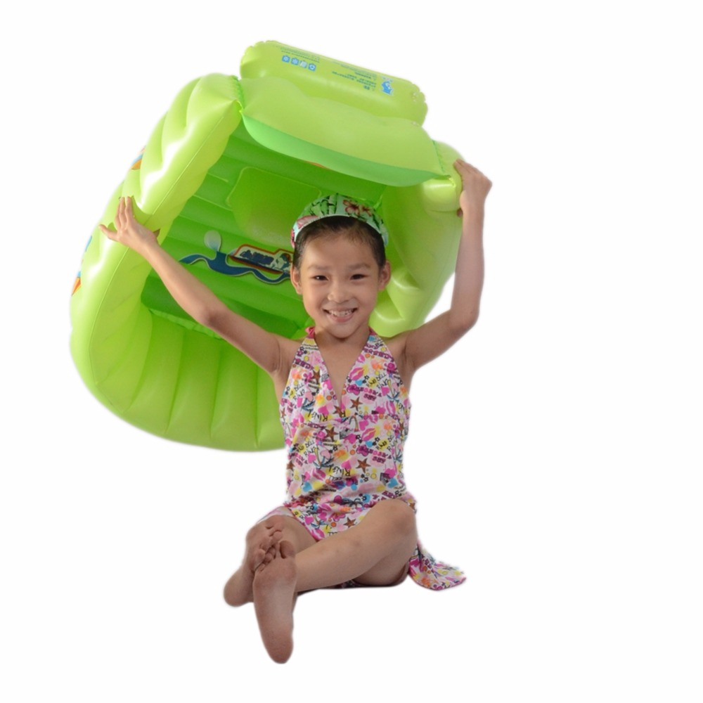 Portable Inflatable Baby bathtub Shower Tray Bidet Bathtubs Blue ...