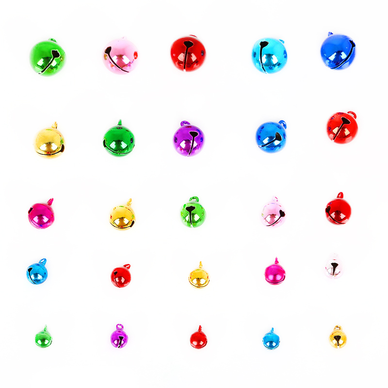 50PCS random color Craft Kits And Supplies Christmas Jingle Bells //Small Bell TP