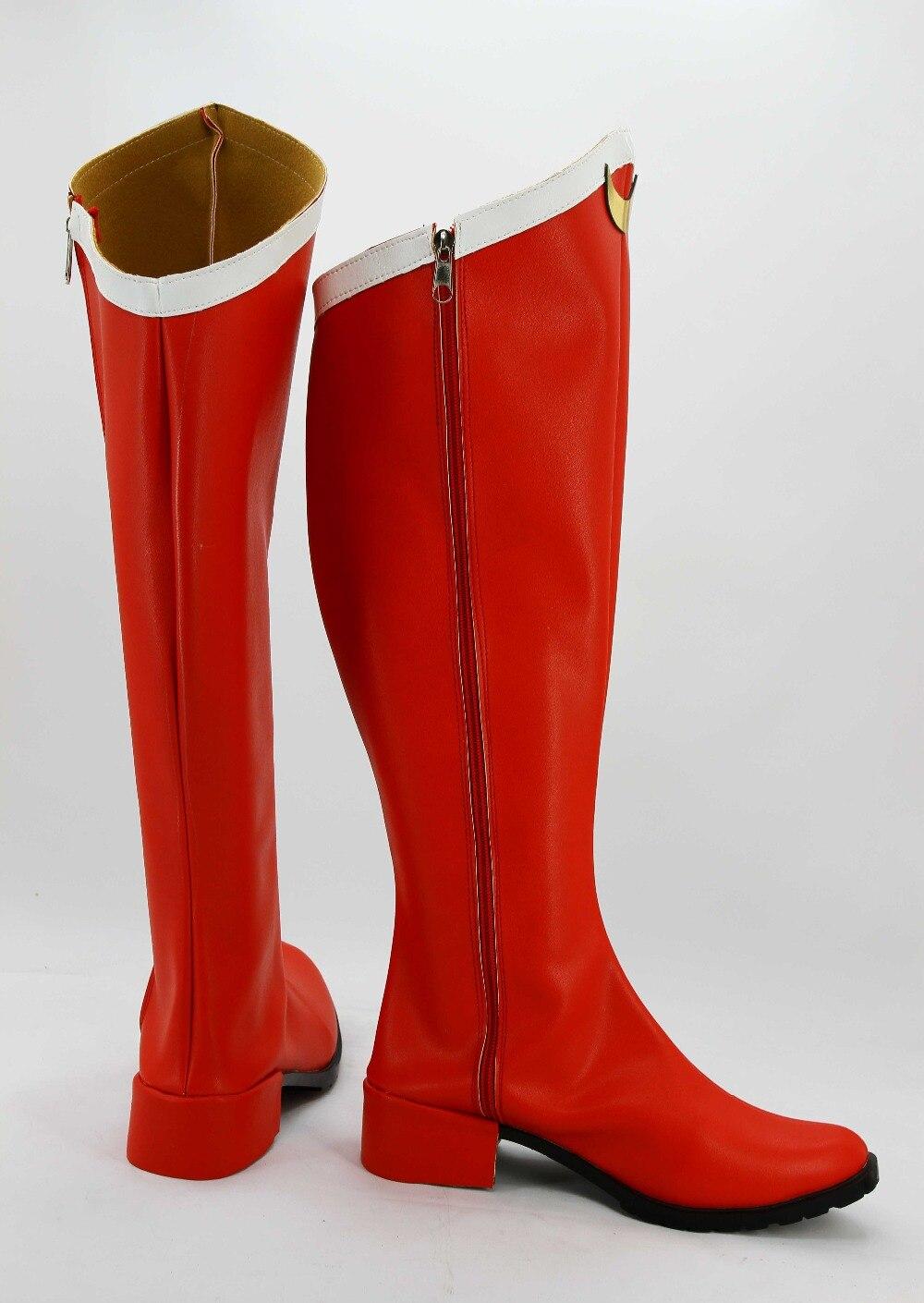 2e475c716 بحار القمر Tsuking Usagi تأثيري زي الأحذية لوليتا الشرير الأحمر أحذية مخصص