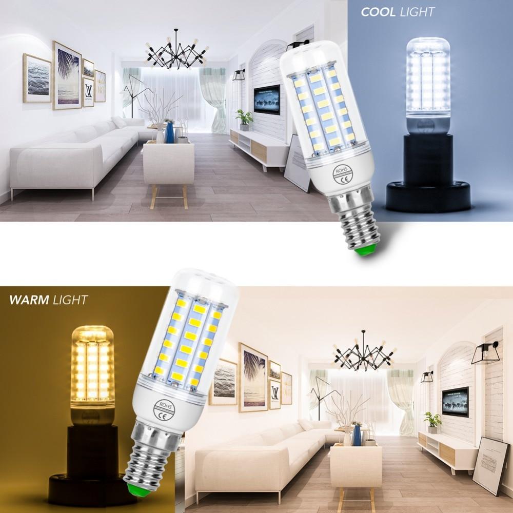 Ampoule LED Lamp 220V Corn Bulb LED E27 Bombillas Led E14 Energy Saving Light for Home 3W 5W 7W 12W 15W 18W 20W 25W Lampada 5730 4