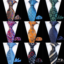 2019 New Various Men Tie Set Classic Polyester Silk Business