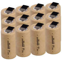 Lowest price 12 piece SC battery 1.2v batteries rechargeable 2200mAh nicd battery for power tools akkumulator